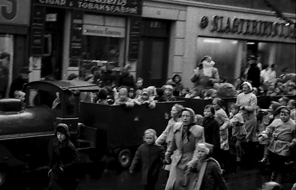 Christmas in Bogense 1955